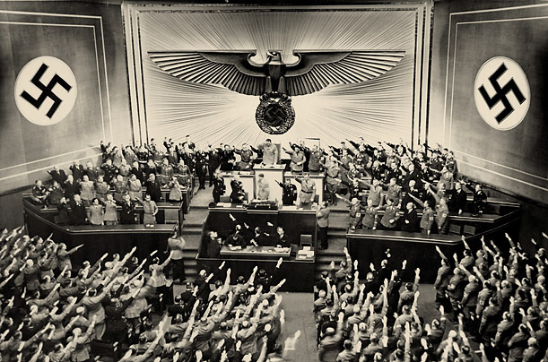 the history of adolf hitler and the nazis rise to power in germany Story of the 1930s was the rise to power of adolf hitler and his nazi party   germany and the united states declared war on each other four days after pearl .